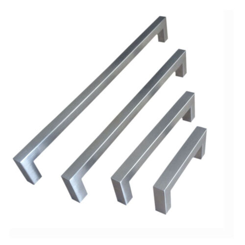 """25 Pack Stainless Steel Square Bar Pull  Cabinet Handle CC 8/"""""""