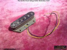 Vintage Fender Grey Bottom Telecaster Bridge Pickup Tele 1970 1971 1972 1969 73
