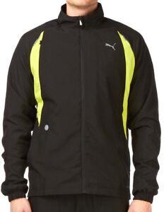 Puma-Warm-Up-Mens-Running-Jacket-Black