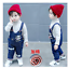 26-style-Kids-Baby-Boys-Girls-Overalls-Denim-Pants-Cartoon-Jeans-Casual-Jumpers thumbnail 49