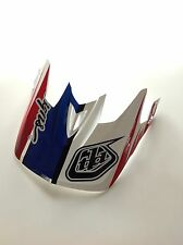 Troy Lee Designs D3 Helmet Red White And Blue Brand Spanking New