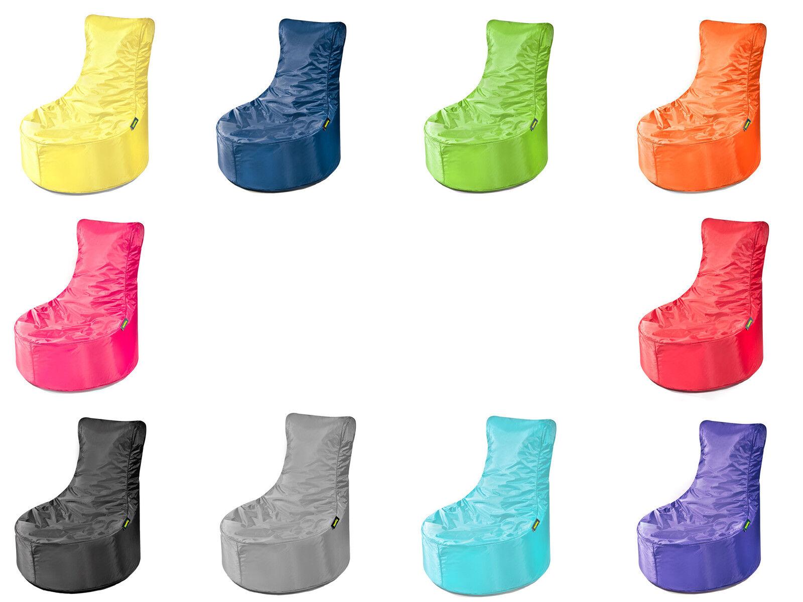 Pushbag seat Indoor Housse de siège en 10 couleurs-remplit DIN en 71 2+3 normes