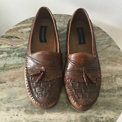 Giorgio Brutini Mens Dress Shoes Size 9.5 Brown Tassels ...