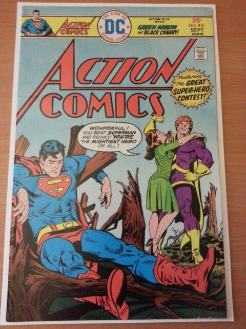 Action Comics #451 ~ VERY GOOD VG ~ 1975 DC COMICS