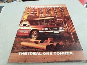 1994 HOLDEN RODEO Australian Sales Brochure