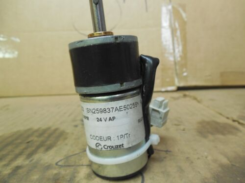 Crouzet Encoder 82862503 5000 RPM 24 Volt Used