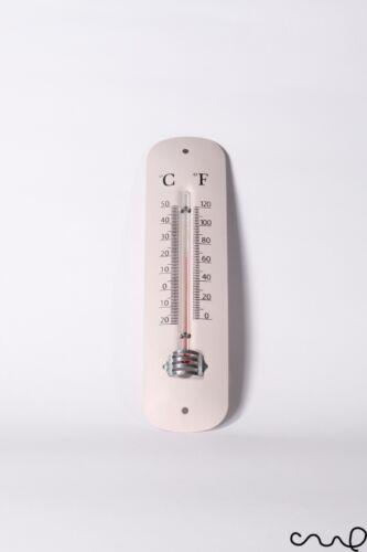 IN METALLO STILE VINTAGE CHIC COLORI PASTELLO Termometro Blu Rosa Turchese Grado B
