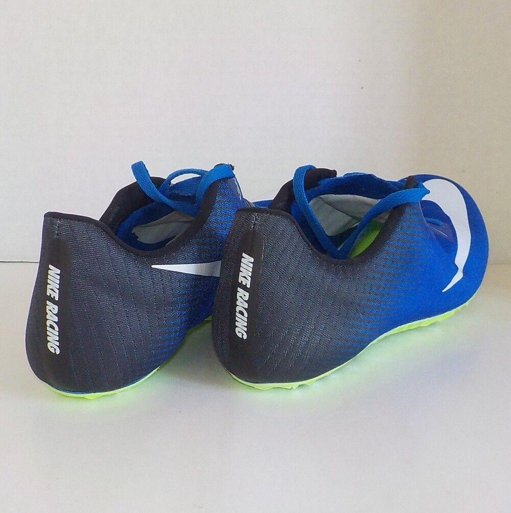 buy popular 0857a 3d06f ... Nike SUPERFLY ELITE Sprint Running BLACK BLACK BLACK BLUE 835996 413  MEN SIZE 6   WOMAN ...