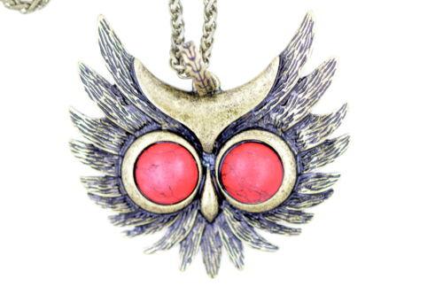 Vintage retro style owl bird necklace multiple choices