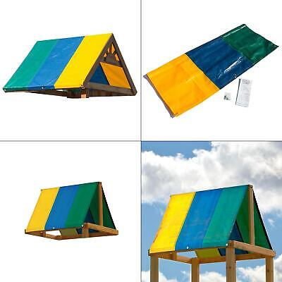 multi-color canopy kittarp replacement swing set playground playset slide sun