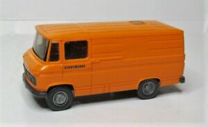 Wiking-1-87-Mercedes-Benz-L-406-Transporter-Sondermodell-Stadtwerke-Kommunal-PMS