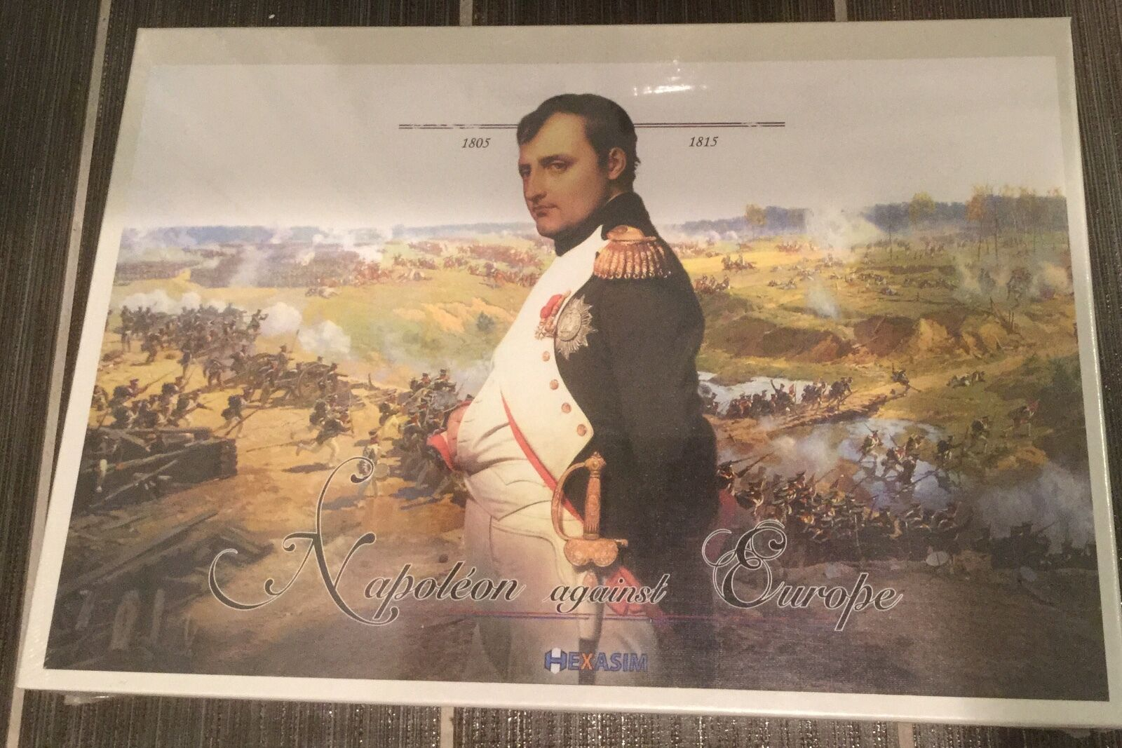 Napoleon against Europe board game. Hexasim  Shrink wrapped.