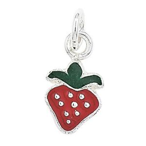 Sterling-Silver-Red-Strawberry-Pendant