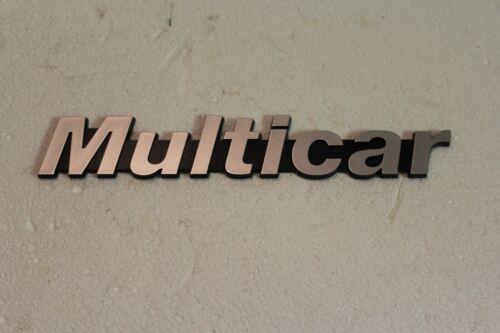 Schriftzug Logo Zeichen Schild Multicar M24 M25 M26 IFA DDR Fortschritt *NEU*