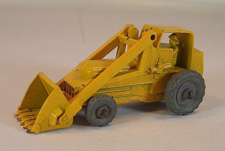 Matchbox regular Wheels nº 24 a Weatherill hy. Excavator giallo MTW Lesney