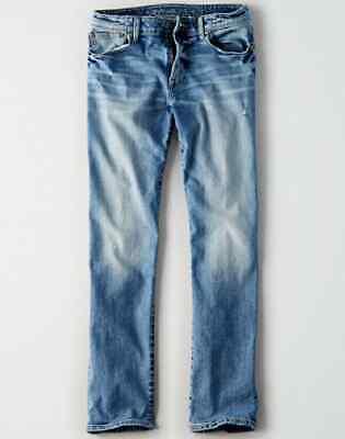 4558 NWT American Eagle Men/'s FLEX Original Straight Jeans 38 x 32