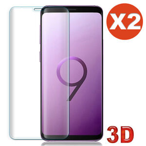 Vitre-verre-trempe-film-protection-ecran-Samsung-S9-S8-Plus-S7-S6-Edge-Note-8-9