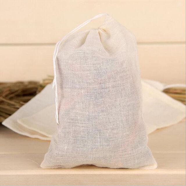 1PC Reusable Milk Strainer Bag Tea Coffee Filter Cheese Mesh Cloth High Quality