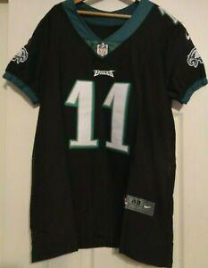 size 40 9d93e fb78b Details about Nike Philadelphia Eagles Vapor Untouchable Jersey Carson  Wentz Black Size 48 XL
