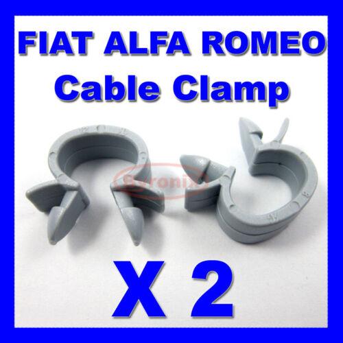 FIAT ALFA ROMEO Câble Collier De Serrage Câbles Câblage Loom Harnais Clip Holder
