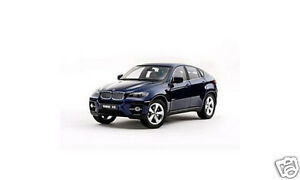 1-18-Kyosho-BMW-X6-wDrive-50i-E70-Deep-Sea-Blue-NEW-IN-BOX