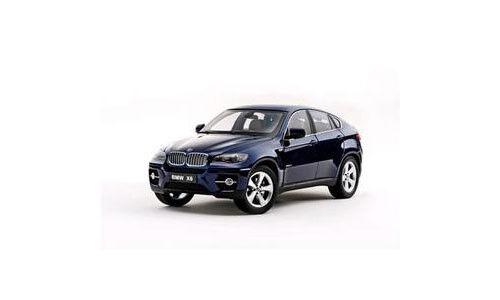 1:18 Kyosho - BMW X6 - wDrive 50i (E70) - Deep Sea Blue NEW IN BOX