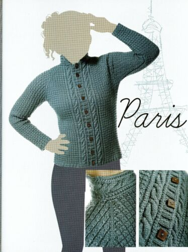 Mission Falls SILHOUETTE 14 Garments /& Accessories Knitting Pattern Book