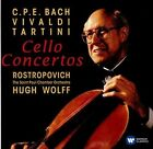 C.P.E. Bach, Vivaldi, Tartini: Cello Concertos (2016)
