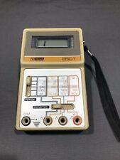 Vintage Bk Precision 2801 Multimeter Without Probes