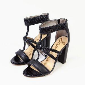 Sam Edelman Women's Black Leather
