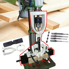 Woodworking Bench Mortiser Square Hole Chisel Drilling Locator Machine New