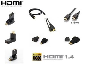 HDMI-to-HDMI-Mini-HDMI-Micro-HDMI-Adapter-HD-Cable-Lead-Kit-PC-TV-Tablet-HDTV