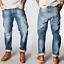 Nudie-Herren-Regular-Straight-Fit-Jeans-Hose-B-Ware-Neu-Blau-Schwarz Indexbild 17