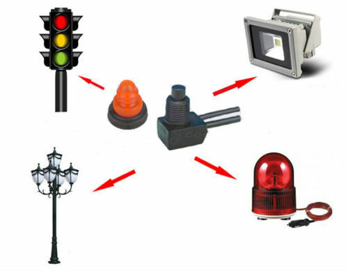 """12V Waterproof Push-Button On-Off Switch With 4/"""" Lead For Motorcycle Car Boat"""