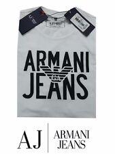 Mens Armani Jeans T-Shirt White Colour Large size