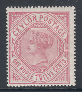 Ceylon-SG-201b-MLH-1887-1r12c-dull-rose-QV-wmk-upright-crackly-OG-fresh