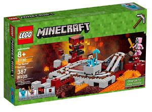 LEGO-Minecraft-21130-Die-Nether-Eisenbahn-inkl-0-00-Versand-Neu-amp-Ovp