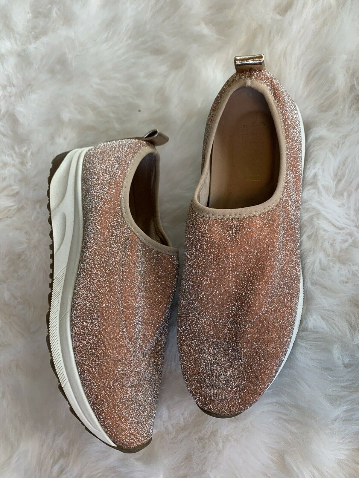 Steeve Madden Shoes Rose Gold NC-slate Casual Jogger Sneaker Comfort Size 8.5