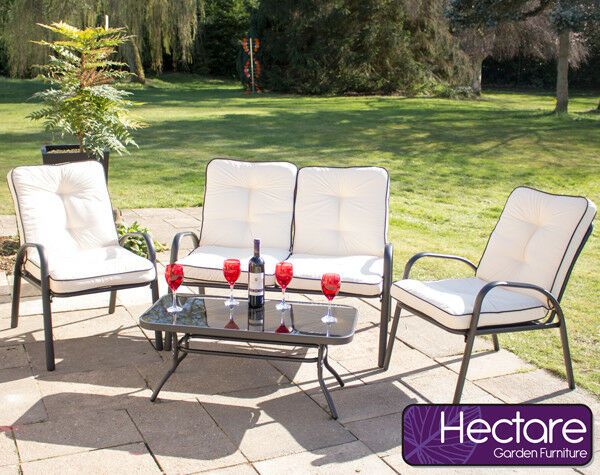 Armchairs Coffee Table Garden Leisure Outdoor Dining Furniture Set