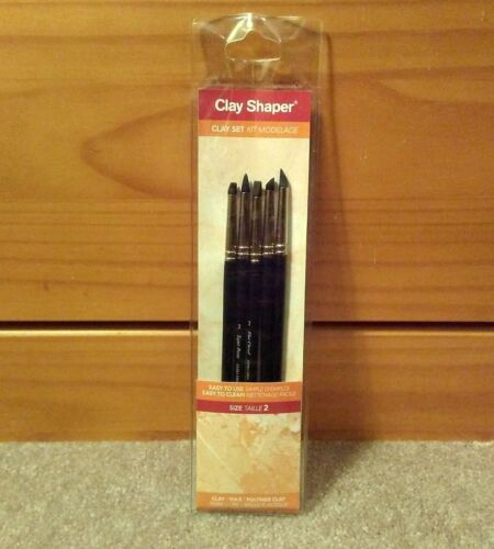 Adhesives Heavy Body Paint West Design Clay Shaper Tool Set Size 2 For Wax