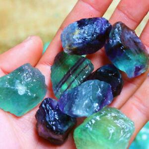 Natural-Rainbow-Fluorite-Crystal-Quartz-Rough-Raw-Stone-Healing-Home-Decor