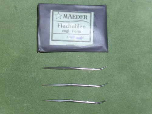 50 Stück 70 mm Maeder Form unbenutzt, Plattoerter Flachahlen engl