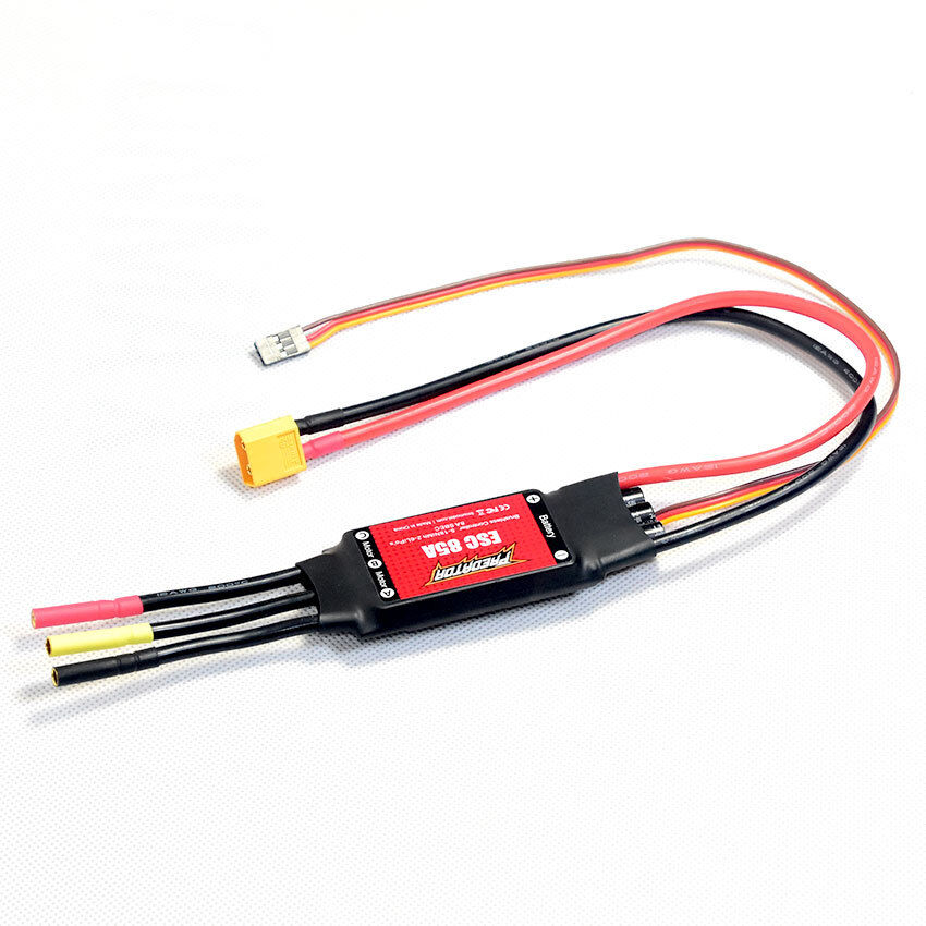 FMS part FMSESC85A8A Brushless ESC 85A 85A 85A with 8A SBEC for 1700mm RC giant warbird 8068f1