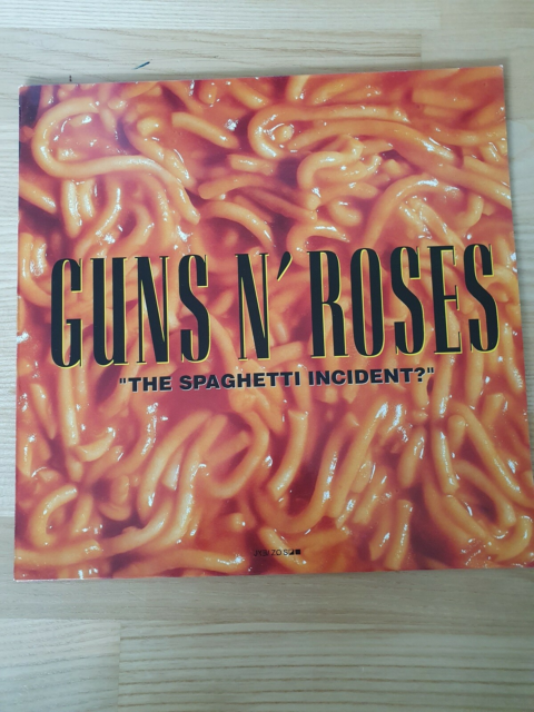LP, Guns n' Roses, The Spaghetti Incident, Rock, Fin skive…