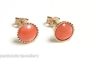 9ct Gold Opal D//C Teardrop Earrings Made in UK Gift Boxed