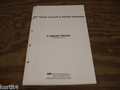 1987 Ford C8000 C-series truck wiring diagram schematic ...