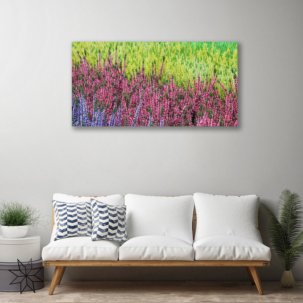 Canvas print Wall art art art on 100x50 Image Picture Flower Floral b8f86d