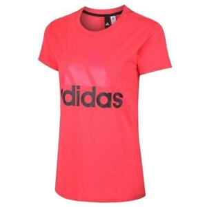 adidas-WOMEN-039-S-ESSENTIALS-LINEAR-T-SHIRT-GYM-PINK-XXS-XS-GIRLS-LADIES-SALE