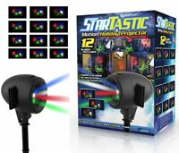 Startastic Holiday Laser Lights Christmas Projector Movie Slide
