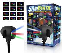 Startastic Holiday Laser Lights Christmas Projector Movie Slide 12 Modes